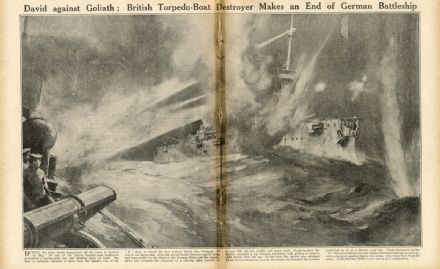 1916 WW1 Magazine BATTLE JUTLAND Vimy Ridge CANADIAN TROOPS Hooge Attack (7900)